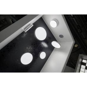 CORUM, LED 4000K, 18W, 1491lm, Notlicht 3h, D=330mm