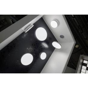 CORUM, LED 3000K, 62W, 5077lm, Notlicht 3h, DALI, D=615mm