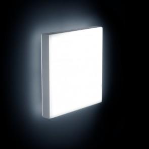 CORUM, LED 4000K, 17W, 1255lm, notlicht 3h, DALI, 300x300mm