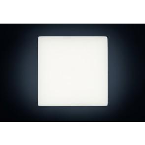 QUATTRA, LED 3000K, 17W, 1329lm, Notlicht 3h, 280x280mm