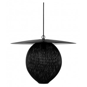 Satellite Pendant, L, Ø 27,2, Midnight Black shade