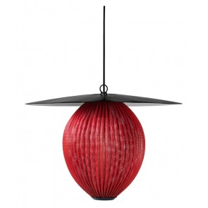 Satellite Pendant, L, Ø 27,2, Shy Cherry shade