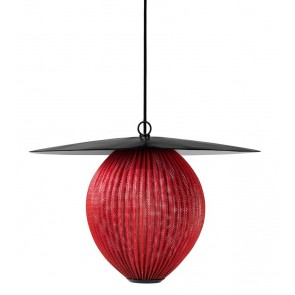 GUBI Satellite Pendant, M, Ø 22,5, Shy Cherry shade