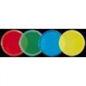 Farbscheibe blau, 2er Set