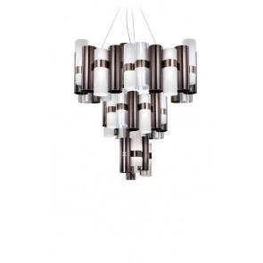 LA LOLLO EXTRA-LARGE SUSPENSION LAMP PELTRO/WHITE
