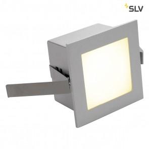 FRAME BASIC LED Einbau- leuchte, eckig, silbergrau, warmweisse LED