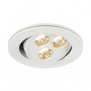 Triton 3 LED, 250 lm, weiß matt