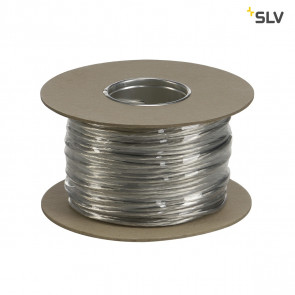 Niedervoltseil, isoliert, 4mm², 25m, Transparent, B-Ware