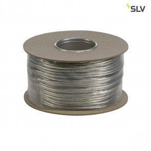 Niedervoltseil, isoliert, 6mm², 45m , Transparent, B-Ware