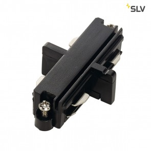 Längsverbinder für 1-Phasen HV-Stromschiene, schwarz, elektrisch