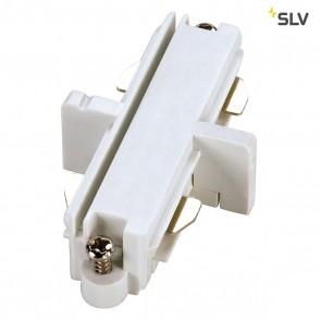 Längsverbinder für 1-Phasen HV-Stromschiene, weiss, elektrisch