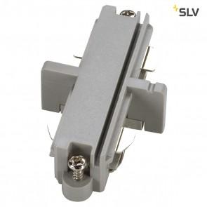 Längsverbinder für 1-Phasen HV-Stromschiene, silbergrau, elektrisch