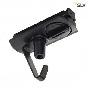 Adapter für 1-Phasen Hochvolt- schiene, schwarz, elektrisch, mit Haken