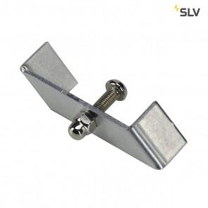 Haltebügel für 1-Phasen HV-Stromschiene, Einbauversion, nickel matt
