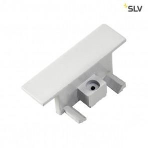 Endkappen für 1-Phasen HV-Stromschiene, Einbauversion weiss, 2 Stück