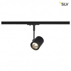 BIMA I Leuchtenkopf, schwarz matt, GU10, max 50W, inkl 1P-Adapter