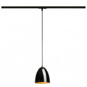 Para Cone 14 für 1Phasen-System, schwarz glänzend, GU10