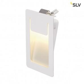 DOWNUNDER PUR Einbauleuchte, eckig, weiss, 3,6W LED, warm- weiss, 80x120mm