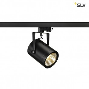 Euro Spot LED für 3Phasen-System, 20 W, schwarz