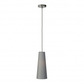 Soprana Cone Ø 14,4 cm grau 1-flammig zylinderförmig