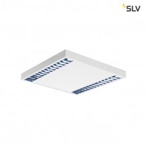RASTO, Deckenleuchte, 2-flammig, LED, 4000K, weiß, L/B/H 60,4/60,4/5,8 cm