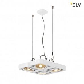 Aixlight R2 Square LED GU10, QPAR111, weiß