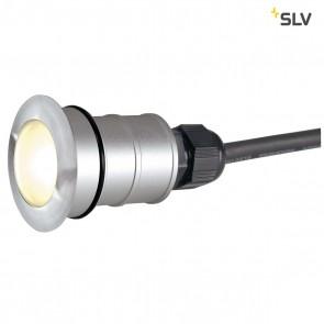 Round, Edelstahl 316, 1W LED, 3000K, IP67