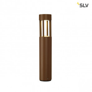 Slots 45 Höhe 46,5 cm rostfarben 1-flammig zylinderförmig