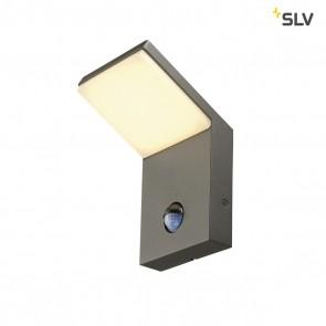 ORDI LED Wandleuchte, anthrazit, 3000K, mit Sensor,