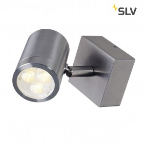 ASTINA single spot, LED Wandleuchte, Edelstahl 316, LED 3W, 3000K, IP44