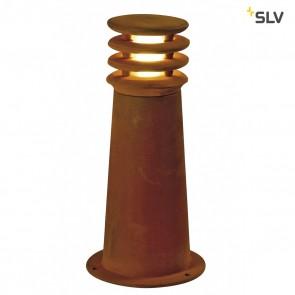 RUSTY H 40cm LED ROUND Aussenleuchte, eisen gerostet, LED 3000K