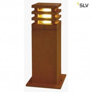 RUSTY H 40cm LED SQUARE Aussenleuchte, eisen gerostet, LED 3000K