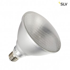 COB LED Retrofit , PAR38, Leuchtmittel, E27, 3000K, anodized aluminium