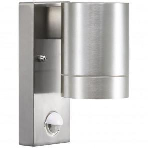 Tin Maxi Sensor, GU10, IP54, mit Bewegungsmelder, metallisch