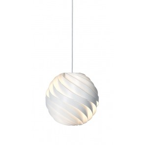 Turbo Pendant, Ø 36, Matt White shade