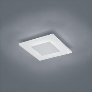 Vada, 27x 27 cm, IP40, inkl LED, mattweiß