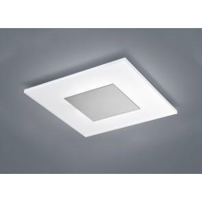 VADA Deckenleuchte, mattnickel, LED, 19,5 W, 2900 K, 1480 lm