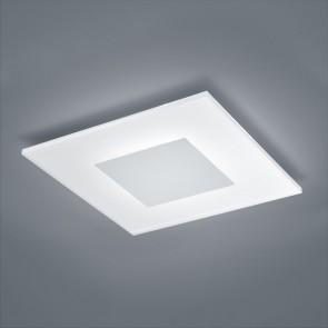 Vada, 40 x 40 cm, IP40, inkl LED, mattweiß