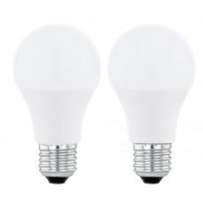 E27-LED, A60, 6W, 4000K, 470 lm, 2er-Set