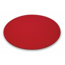 Bubble Filzauflage rot, Ø 400 x 5 mm