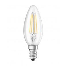 LED RETROFIT B40 4W E14 klar non dim 470 LM BLISTER