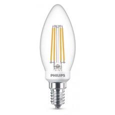 LED Classic E14 (B35) 5W (ersetzt 40W), 470lm, warmweiß 2700K, klar, dimmbar