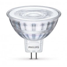 LED GU5,3 (MR16), 5W (ersetzt 35W), warmweiß, nicht dimmbar