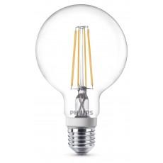 LED Classic E27 (G93) 7W (ersetzt 60W), 806lm, warmweiß 2700K, klar, dimmbar
