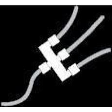 SchegoLUX-Verteiler weiß 3-fach eckig