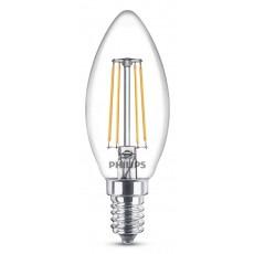 LED Classic E14 (B35) 4W (ersetzt 40W), 470lm, warmweiß 2700K, klar