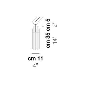 Vistosi Halogenstrahler Diadema, Chrom, Glas/Metall, FADIADETOCRG9 | Lampen > Leuchtmittel > Halogenstrahler | Chrom