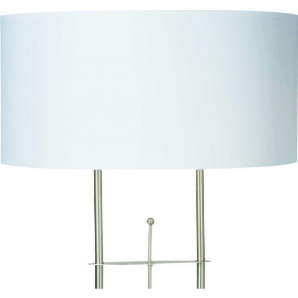 Steinhauer Lampenschirm Stresa, Weiß, Stoff, K10682S | Lampen > Lampenschirme und Füsse | Weiß | Stoff