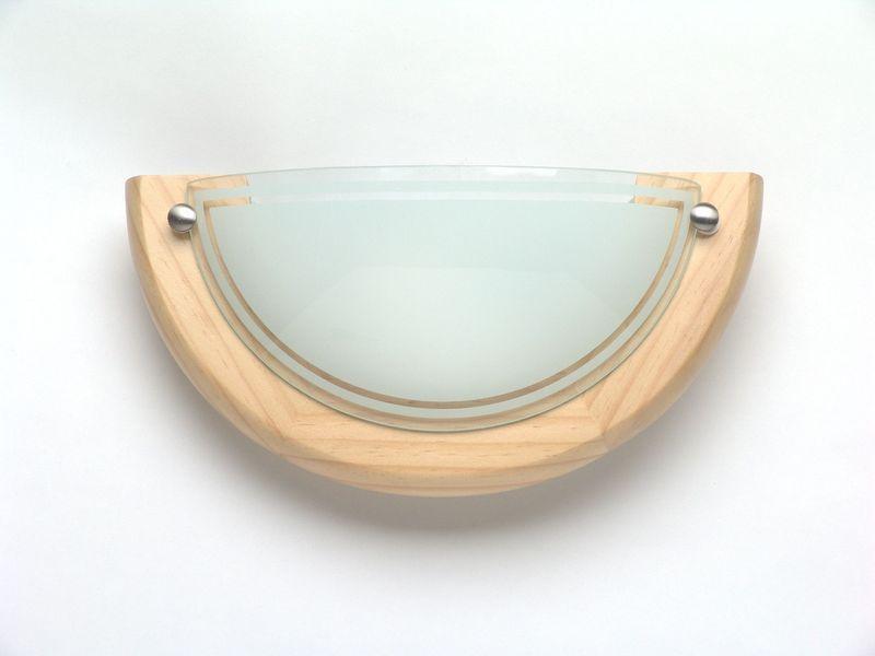 Brilliant Downlight Fidschi 2, Braun/weiß, Glas...