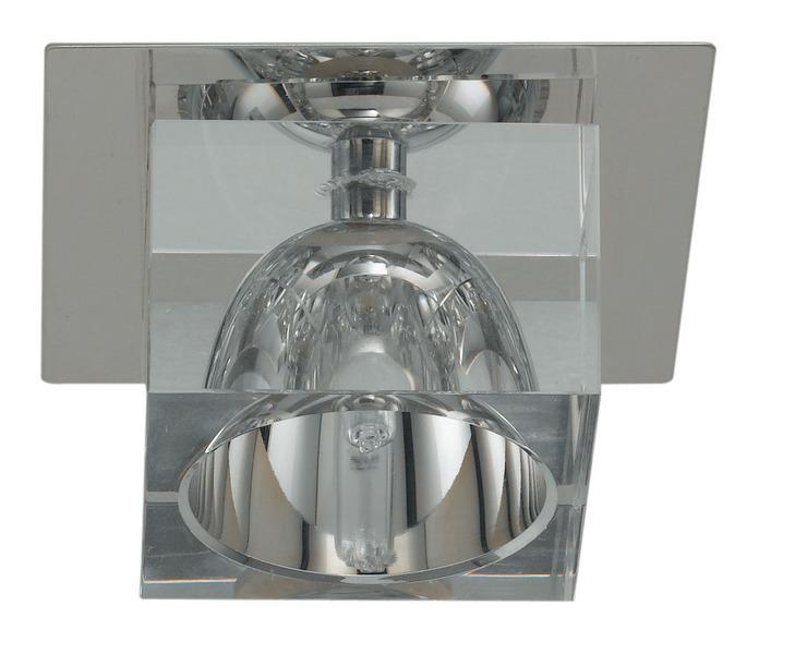 EGLO Deckenleuchte Luxy, Chrom, Glas/Kristallglas/Metall/Stahl, 88879